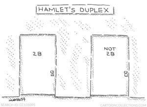 Hamlet's Duplex, Bob Mankoff cartoons