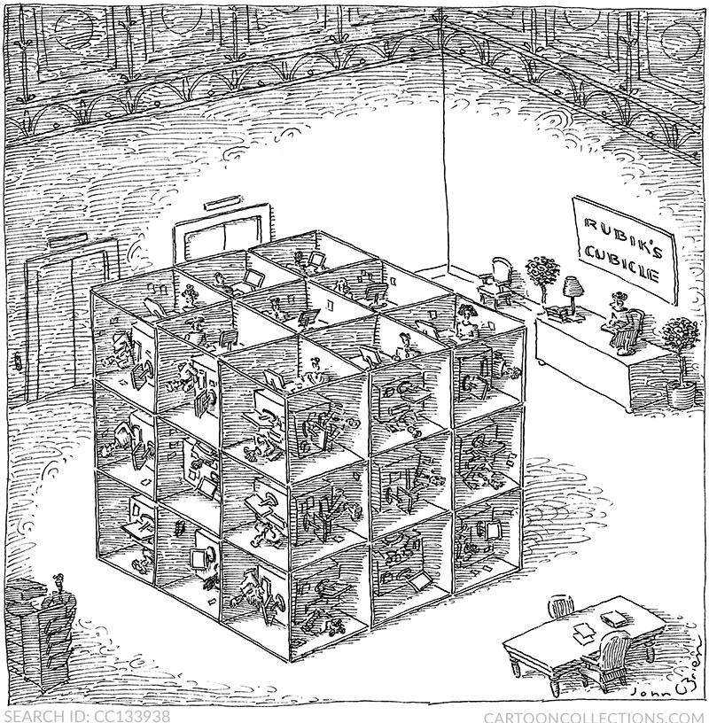 cubicle cartoons