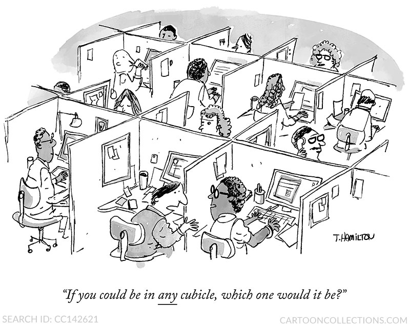 Office cartoons