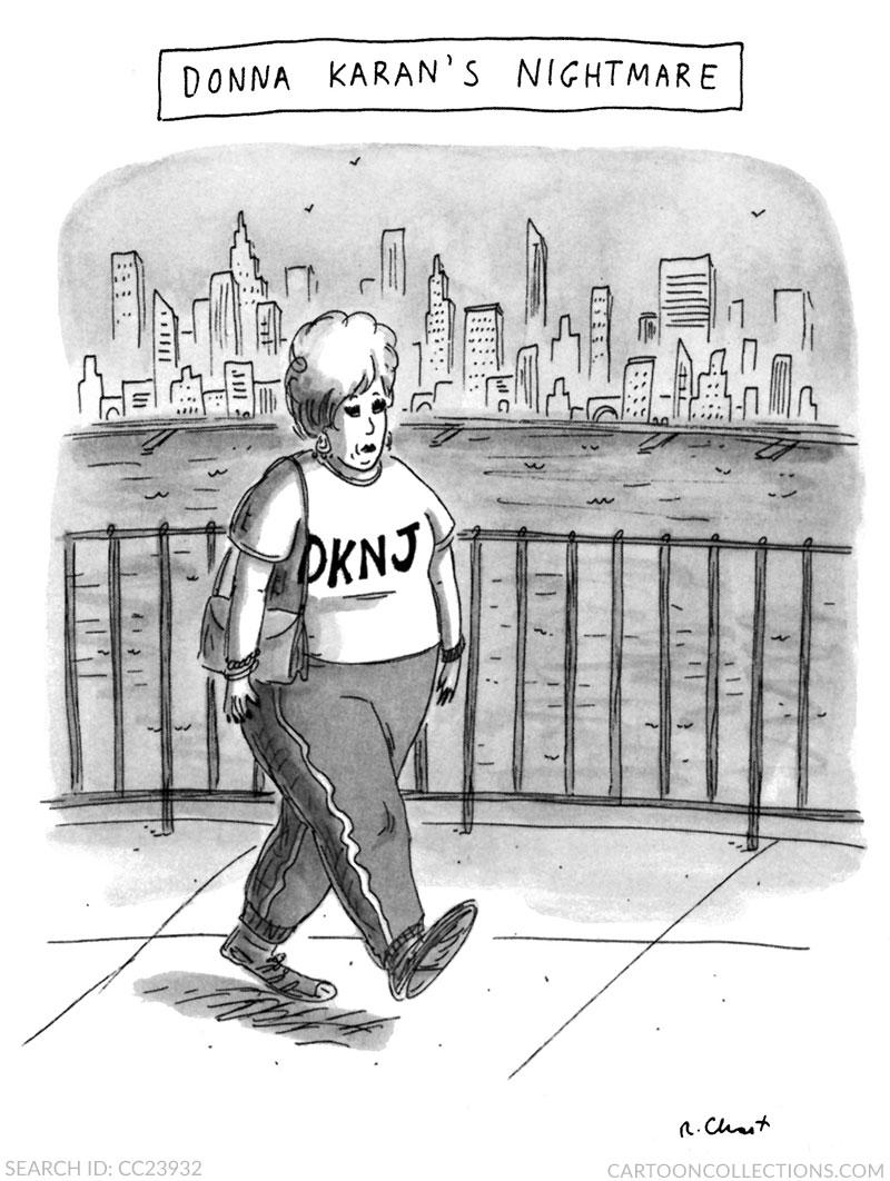 Roz Chast, fashion cartoons