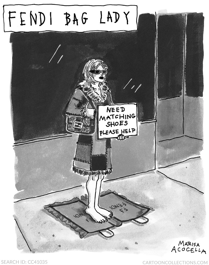 Marisa Acocella cartoon