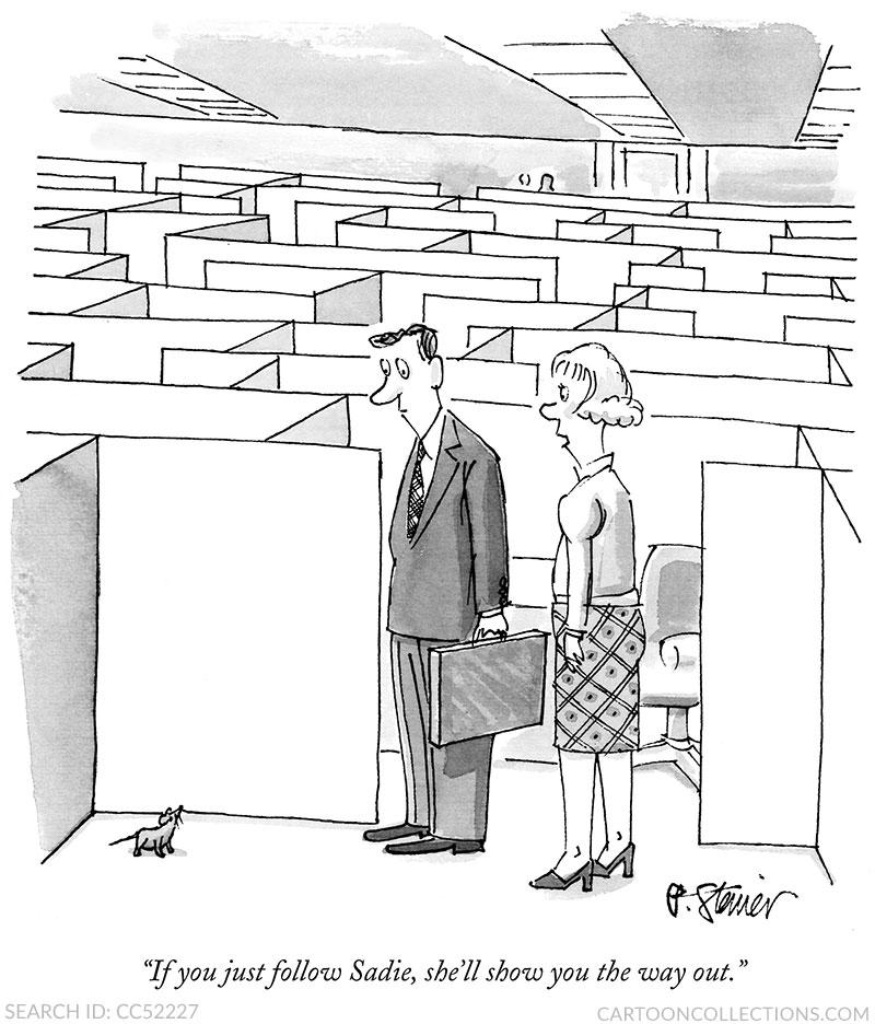 Pater Steiner cartoons