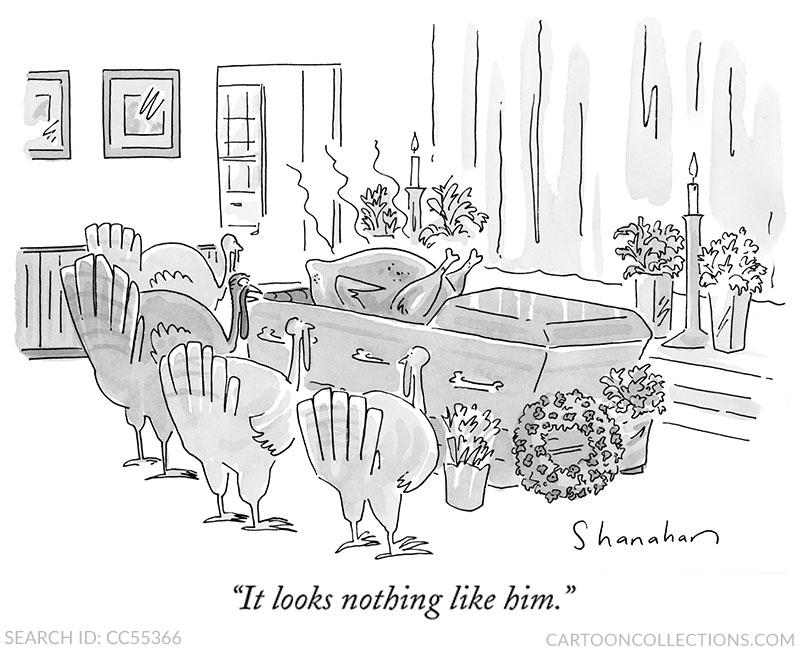 Danny Shanahan. Thanksgiving cartoons
