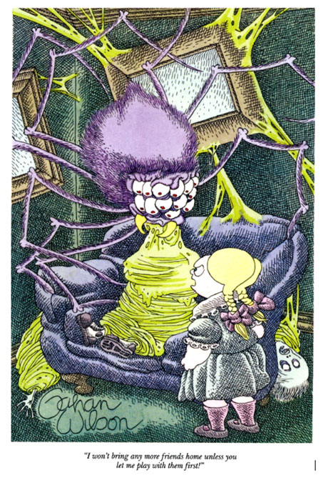 Gahan Wilson cartoons