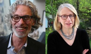 Bob Mankoff and Roz Chast
