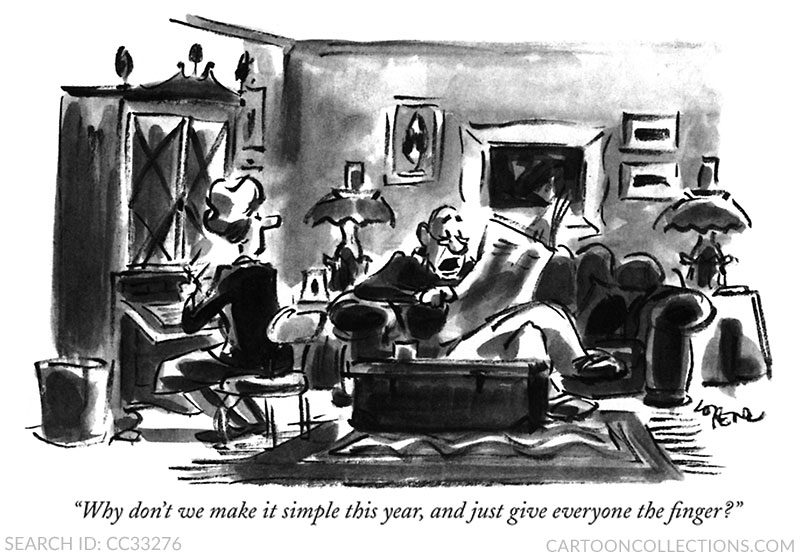 Lee Lorenz cartoons