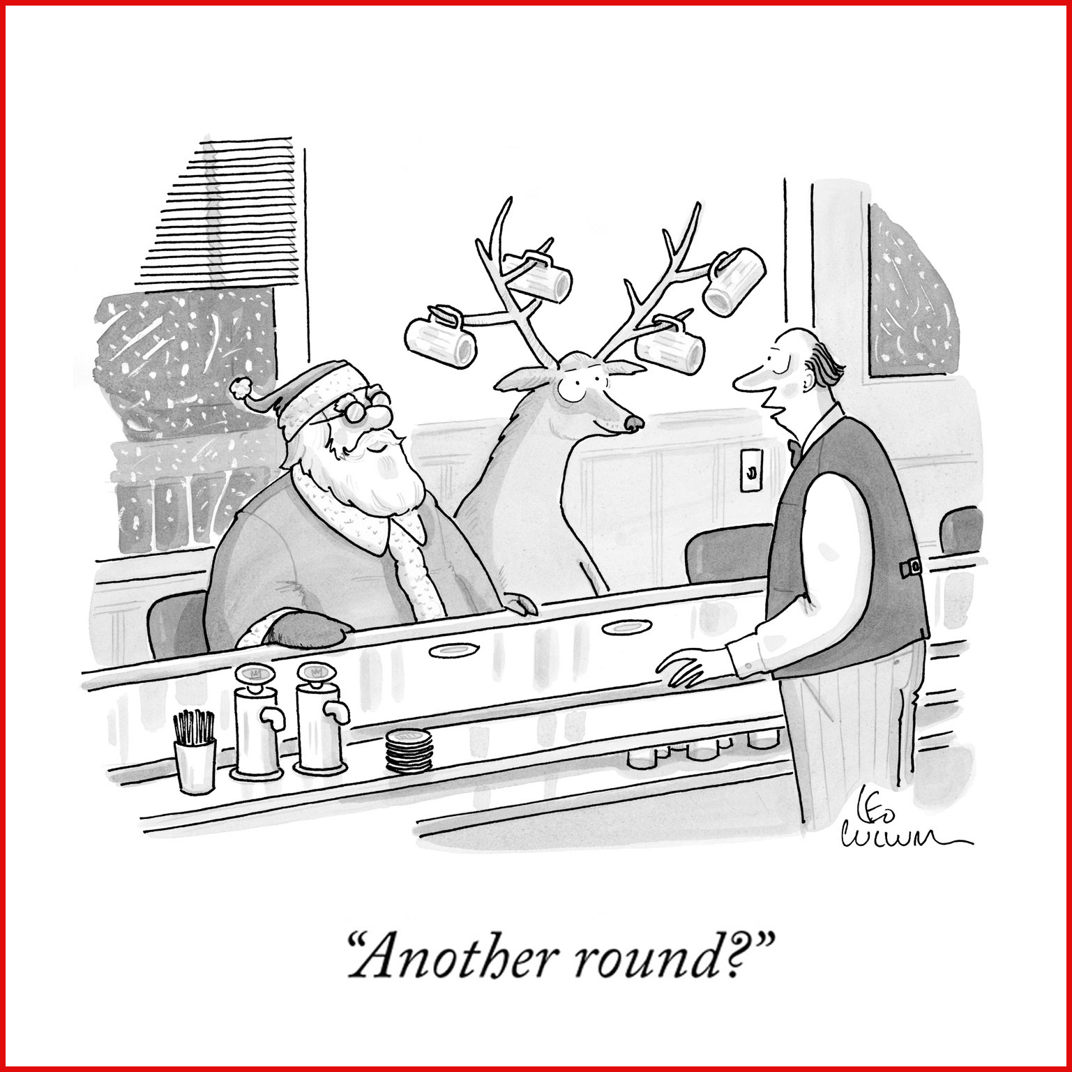 New Yorker Holiday eCards
