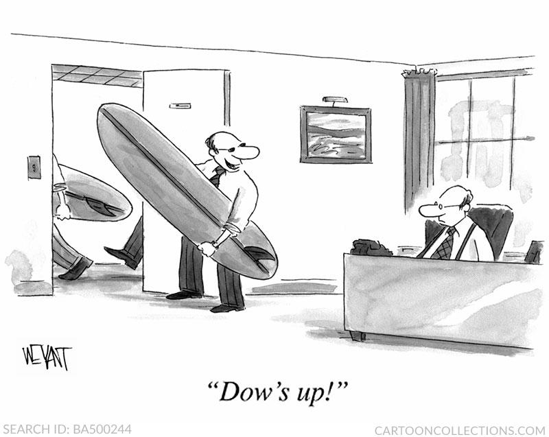 Christopher Weyant cartoons, stock market cartoons