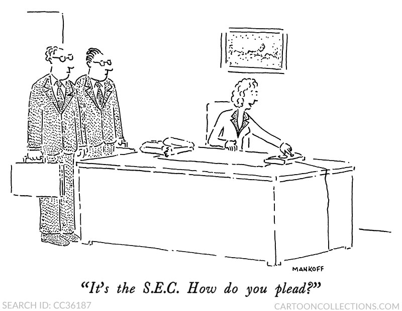 Bob Mankoff cartoons, stock market cartoons