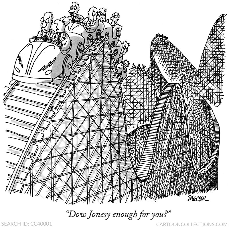 Jack Ziegler cartoons, stock market cartoons