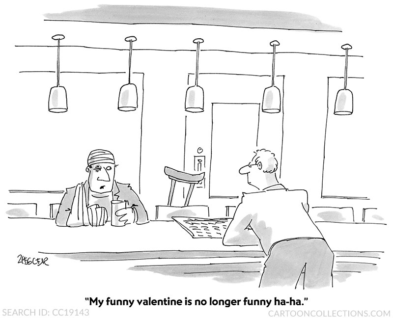 Valentine's Day cartoons