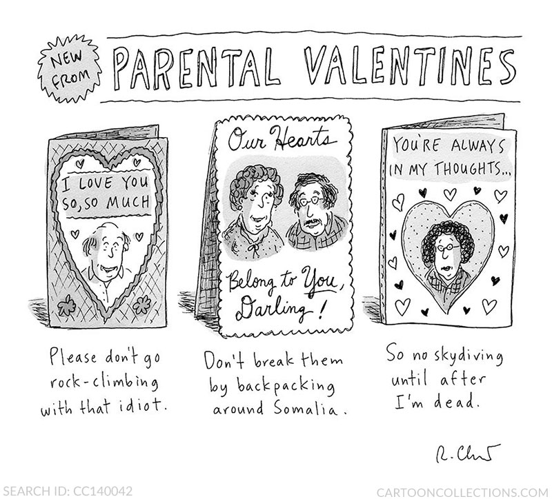 Roz Chast cartoons