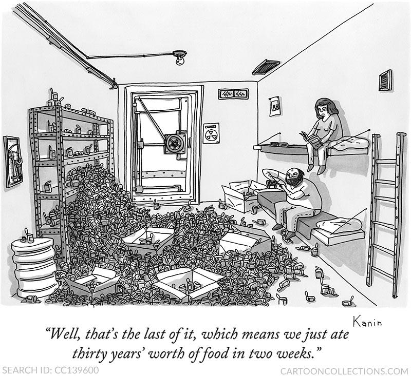 Zachary Kanin cartoons