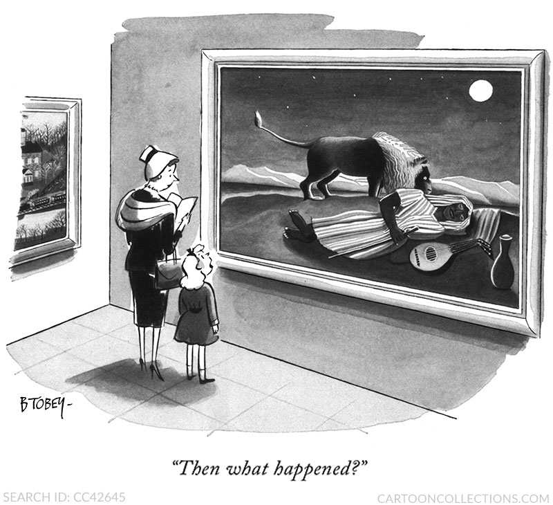 Barney Tobey cartoons