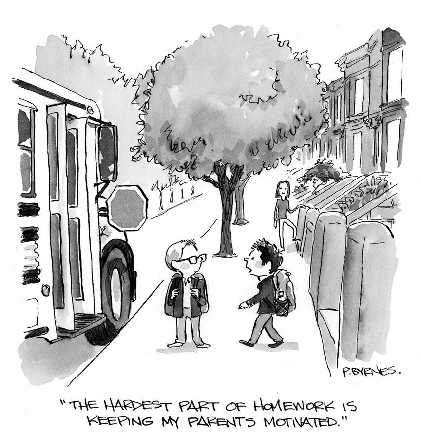 Pat Byrnes New Yorker originals