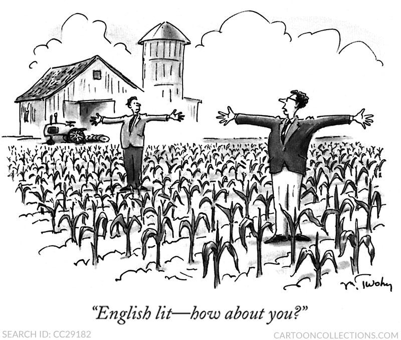 English major cartoons