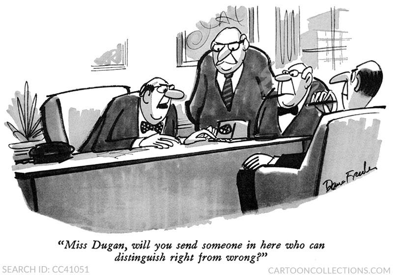 Dana Fradon cartoons