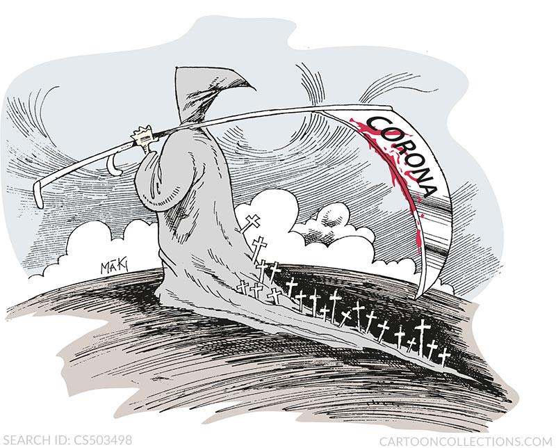 Coronavirus cartoons