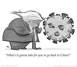Trump cartoons