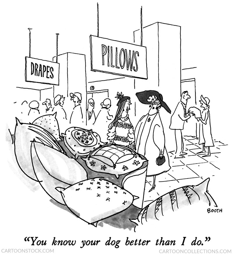 George Booth cartoons