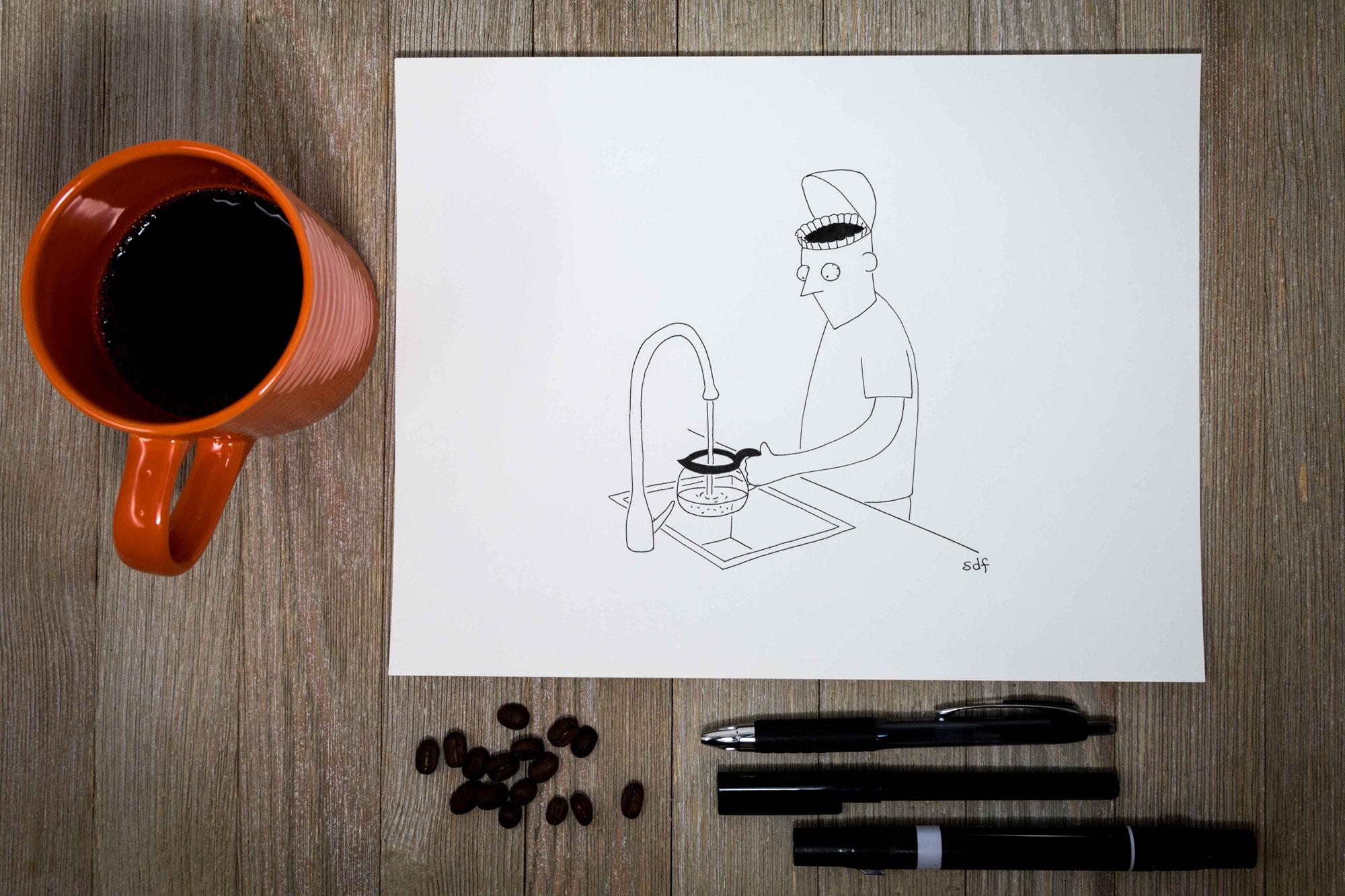 Seth Fleishman cartoons
