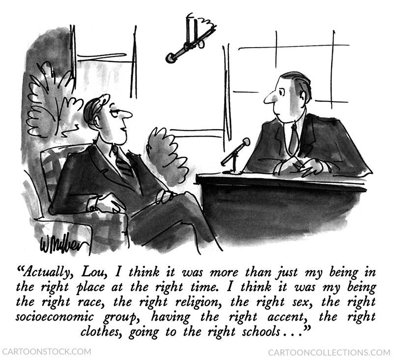 Warren Miller cartoons