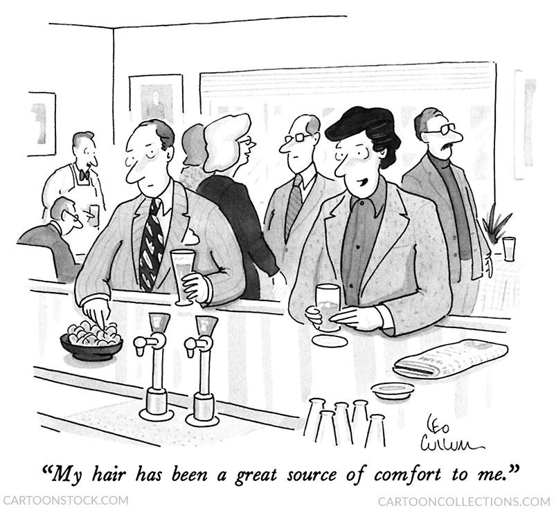 Leo Cullum cartoons