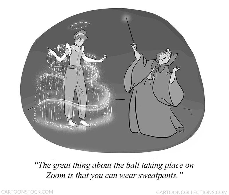 Zoom cartoons