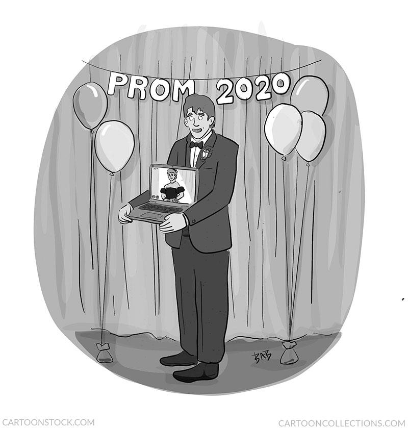 Online school cartoons