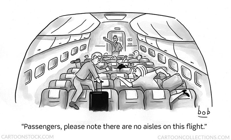 Airplane cartoons
