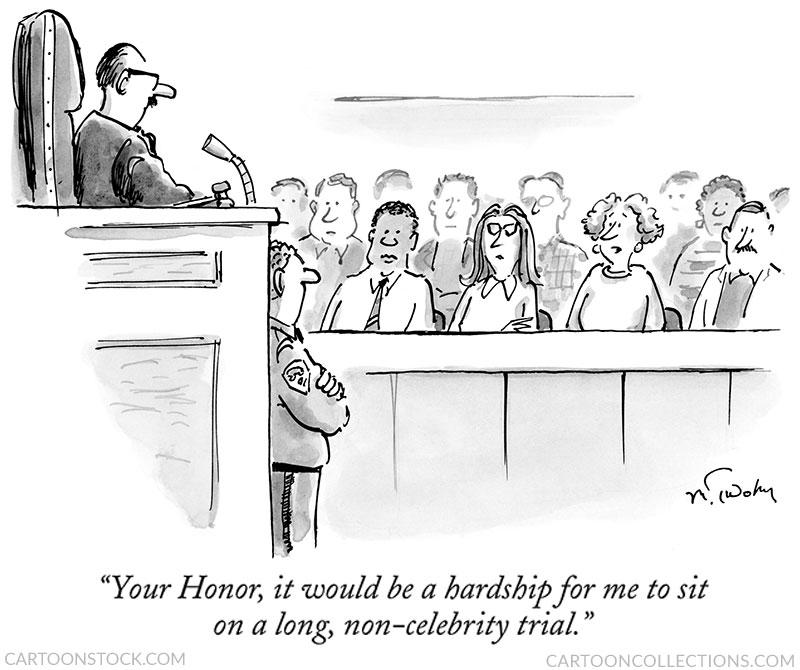 Law cartoons