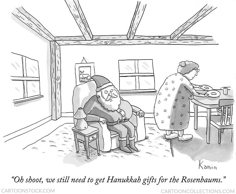 Hanukkah cartoons