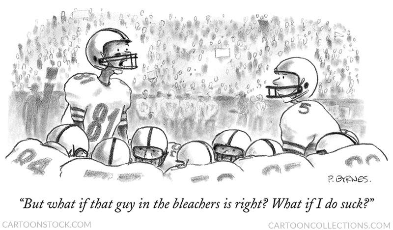 football cartoons