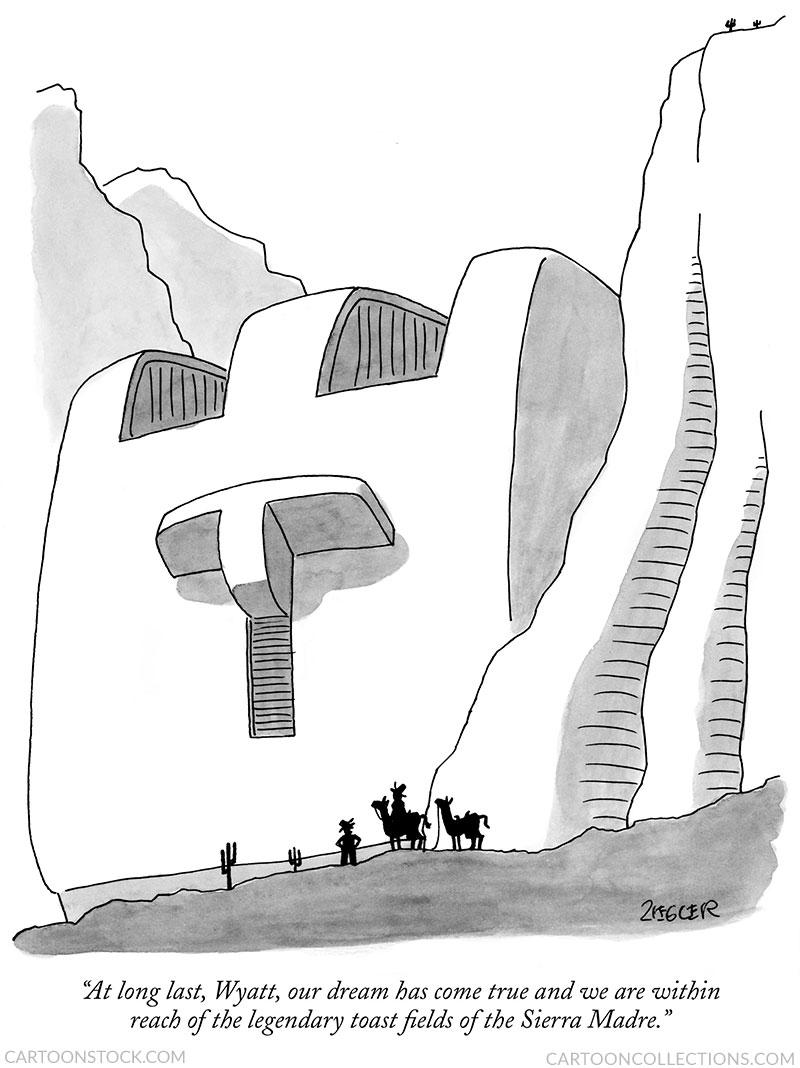 Jack Ziegler cartoon