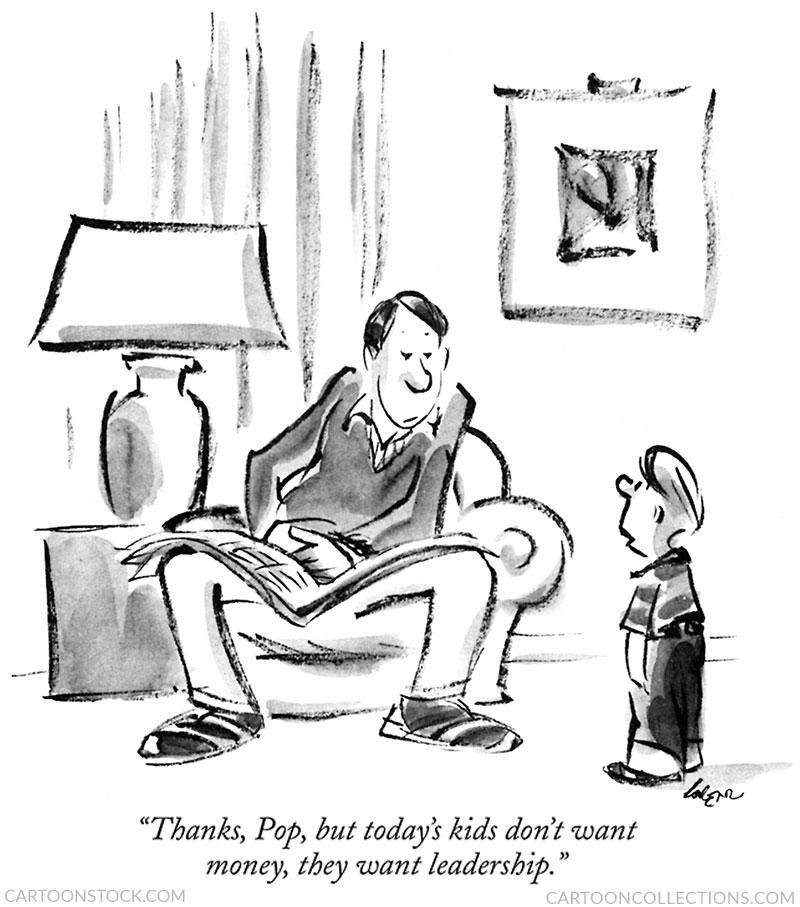 Lee Lorenz cartoon