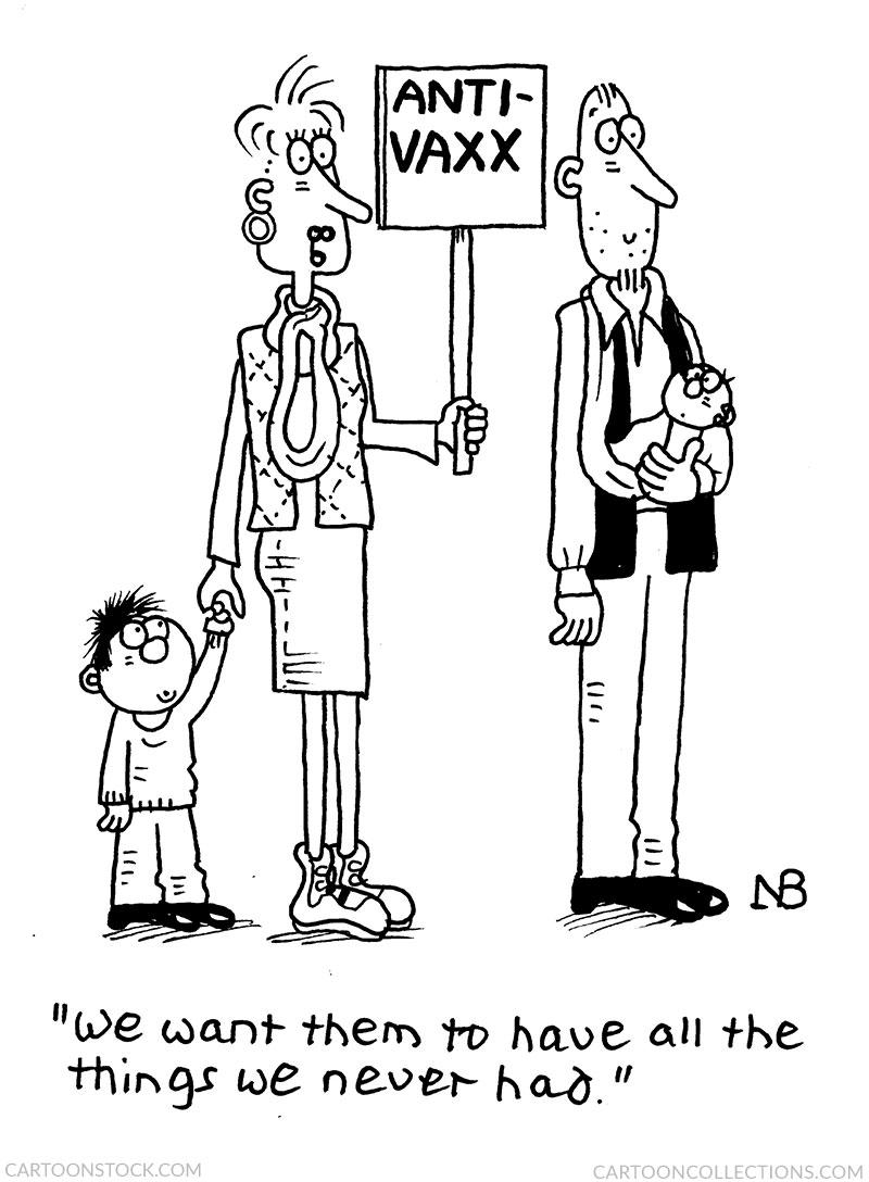 antivax cartoons