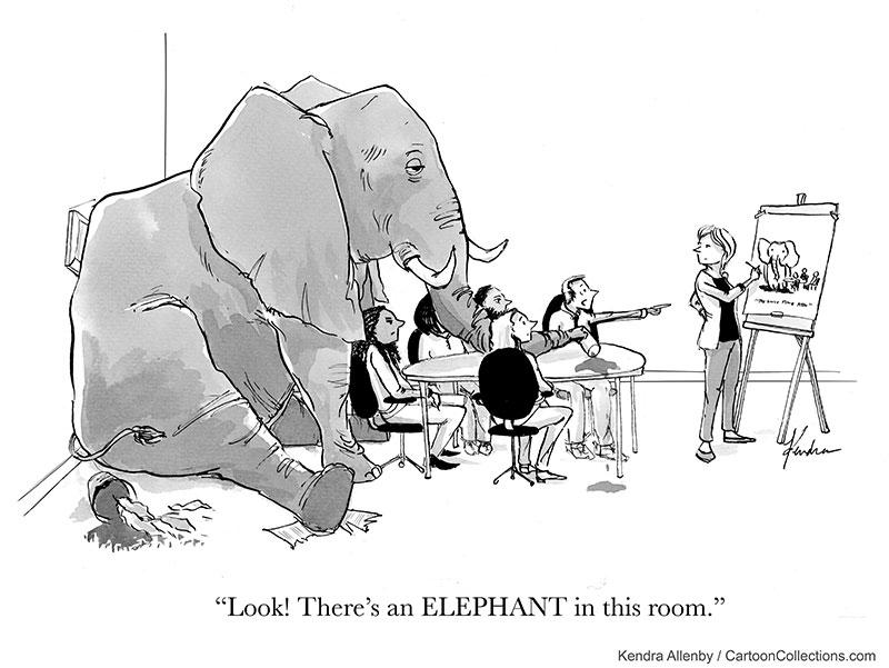 Cartoonathon Cartoon - Kendra Allenby