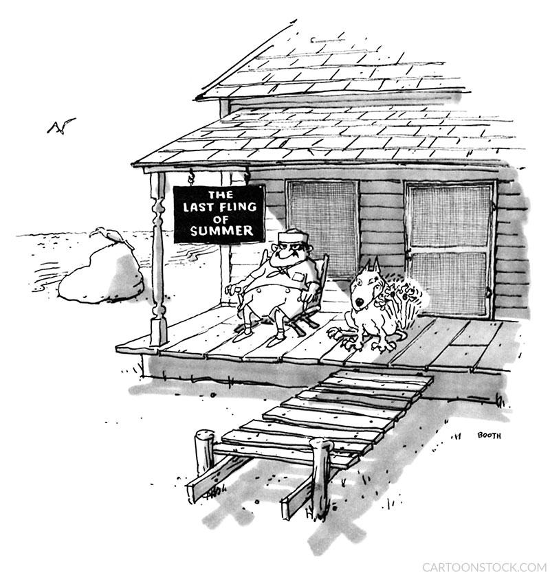 vacation cartoons