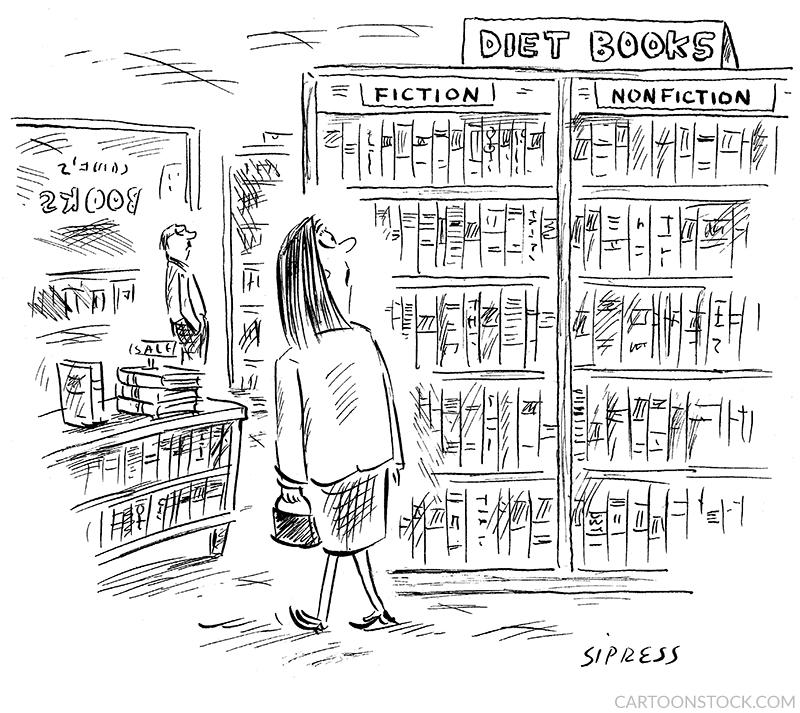 Dieting cartoons