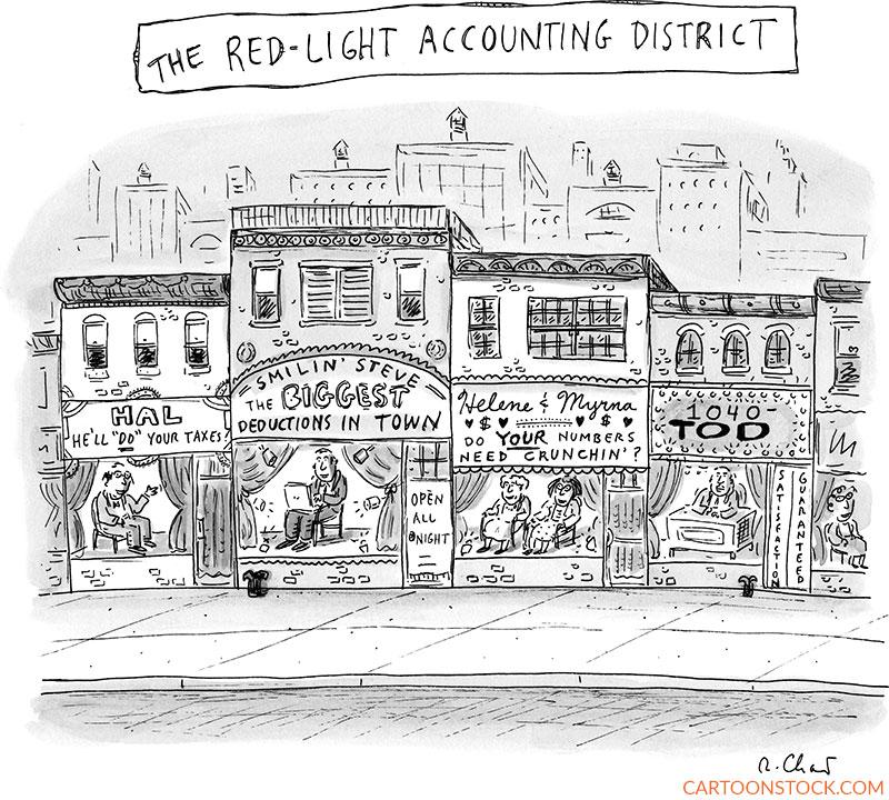 Accounting cartoons