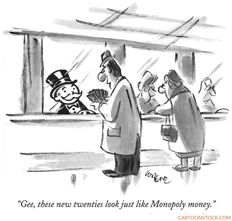 Money cartoons