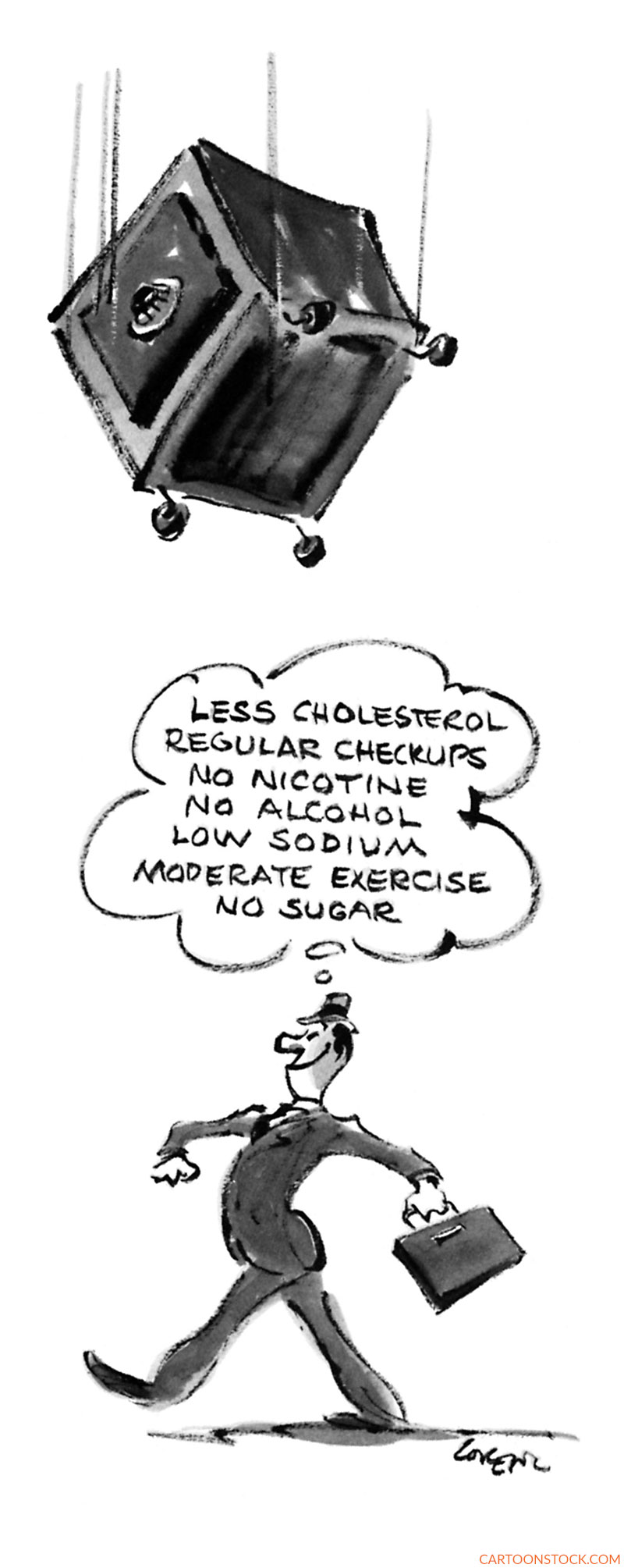 exercise cartoons