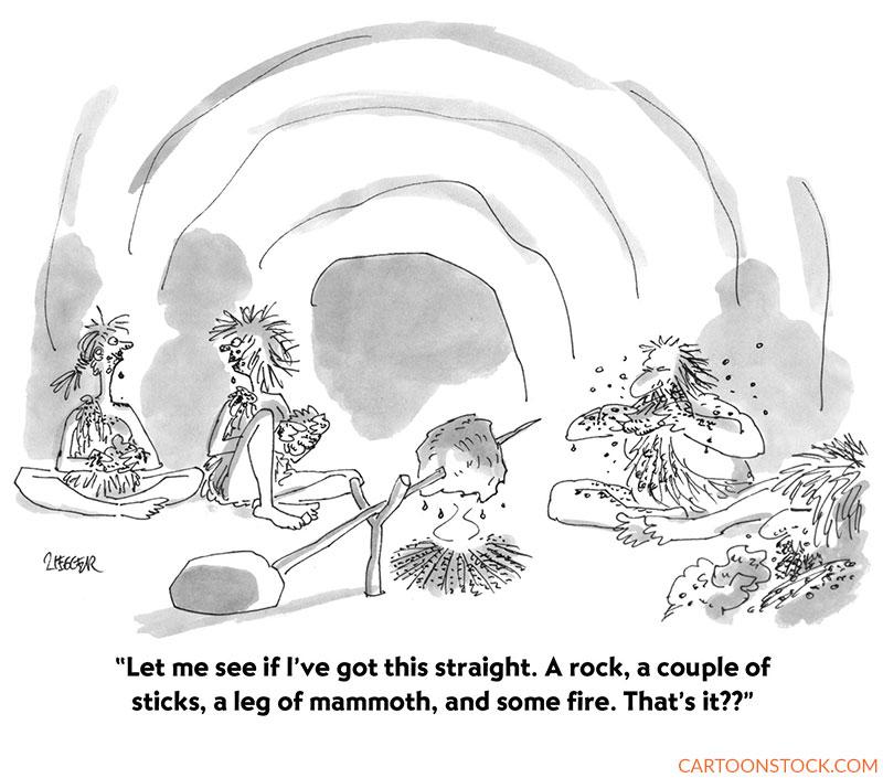 camping cartoons
