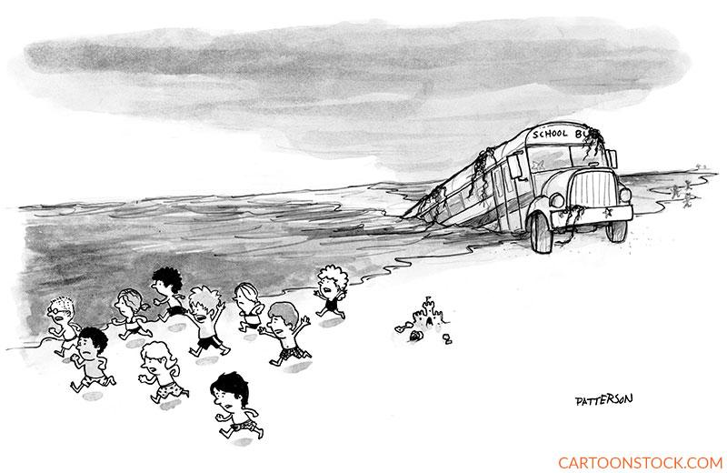 back to school cartoons
