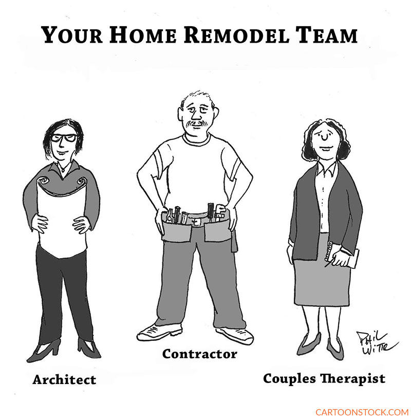 home renovation cartoonss