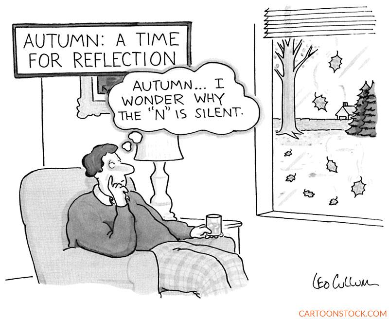 Autumn cartoons