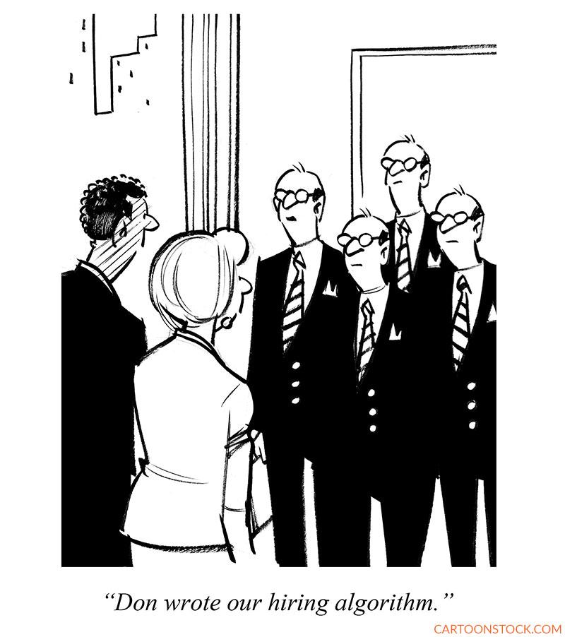 hiring cartoons