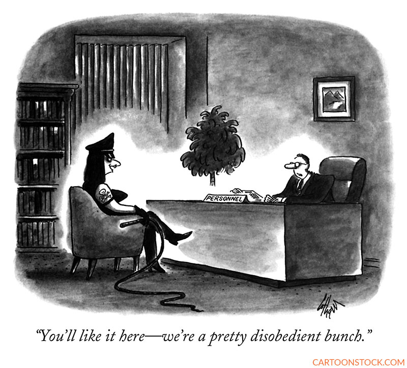 recruitment cartoons