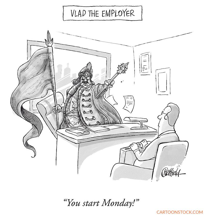 employment cartoons